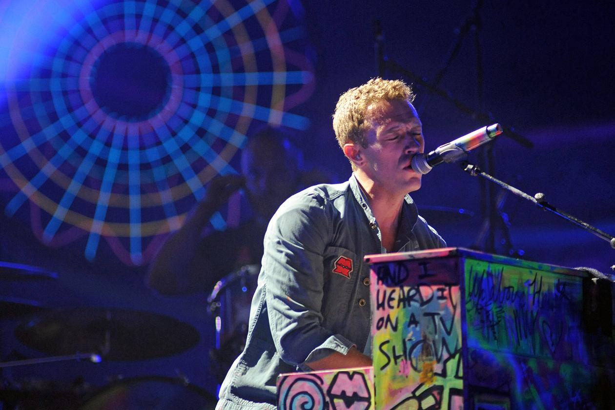 <b>9. Coldplay - $17,300,144.34</b><br><br>Coldplay singer Chris Martin performs during their concert at the National Stadium in Warsaw, Poland.