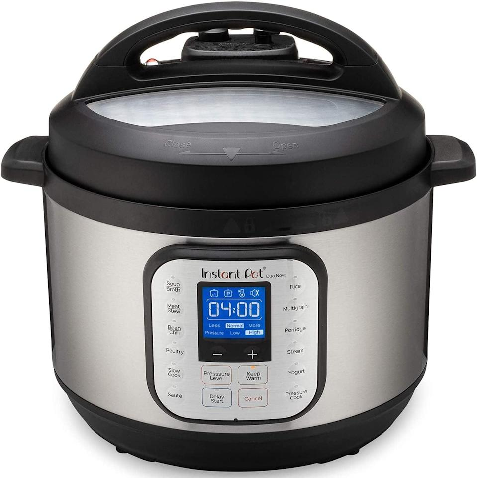 <p><span>Instant Pot Duo Nova Pressure Cooker</span> ($100, originally $150)</p>