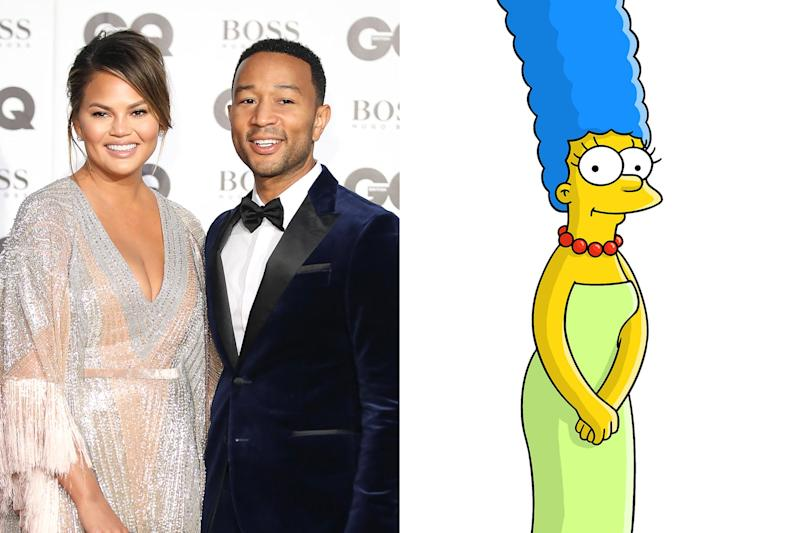 The Simpsons adds John Legend and Chrissy Teigen to season 31 guest roster