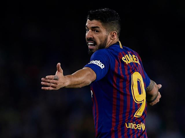 Manchester United: Barcelona issue update on Luis Suarez injury ahead of Champions League clash