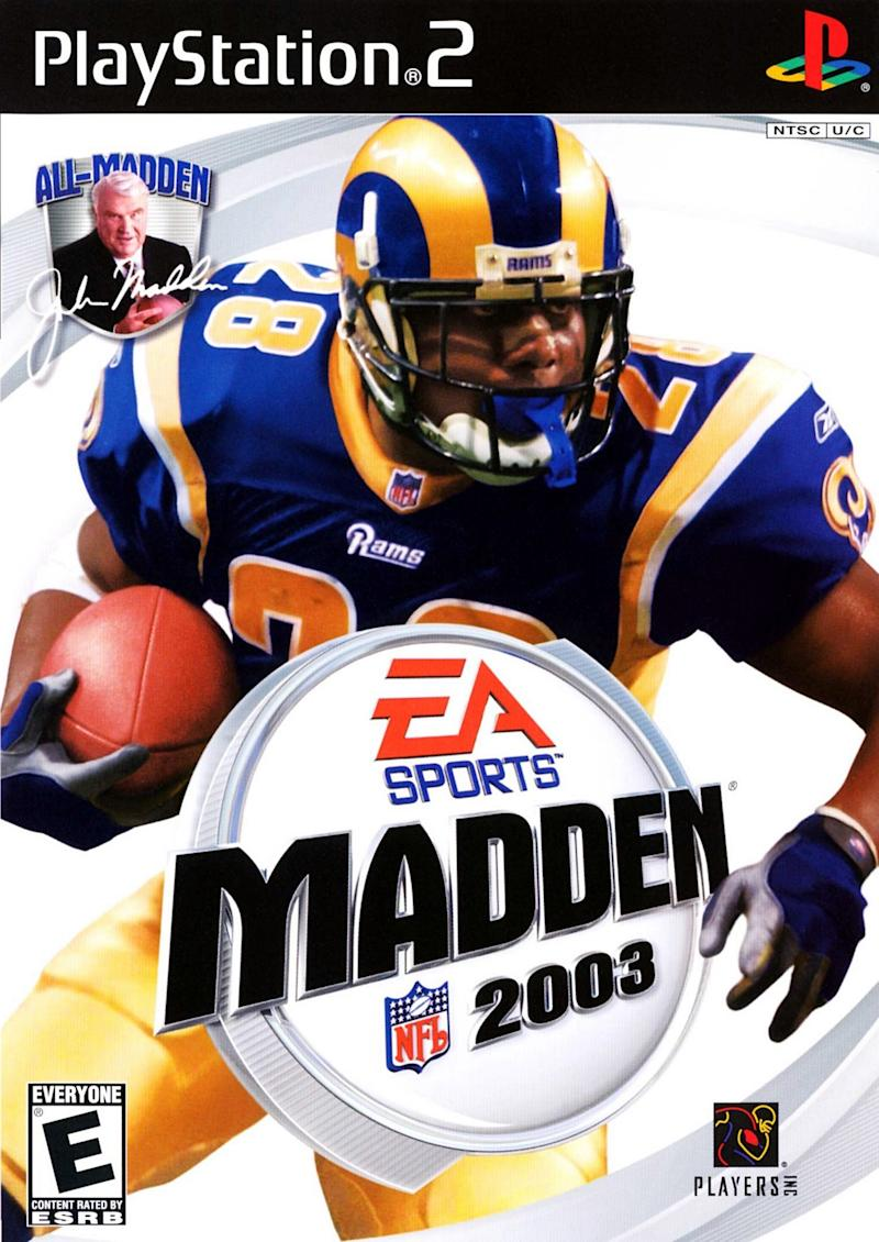 Madden 2003 cover (via EA Sports/Sony)