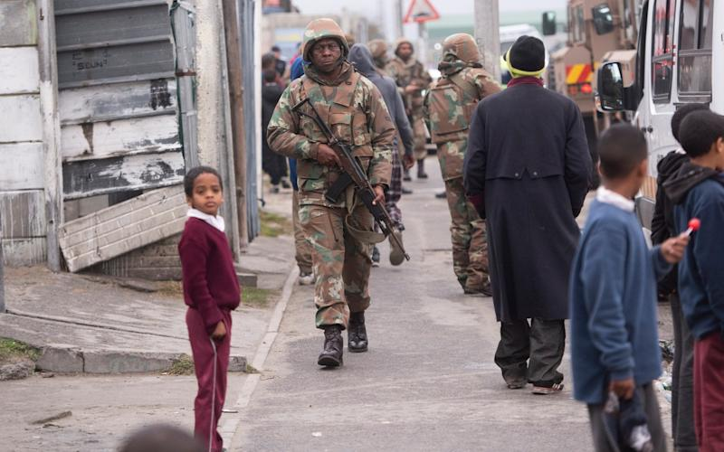 The Cape Flats townships are considered no-go areas by many outsiders - Breton Geach/The Telegraph