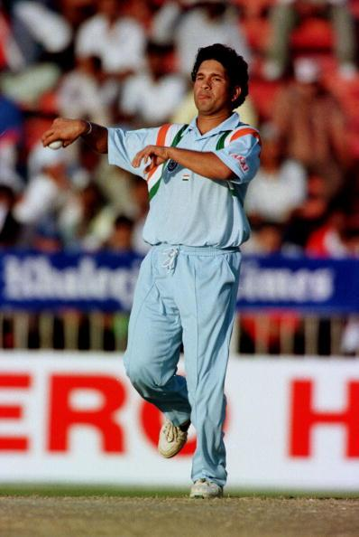 UNITED KINGDOM - JANUARY 09:  SACHIN TENDULKAR / INDIA.  (Photo by David Munden/Popperfoto/Getty Images)