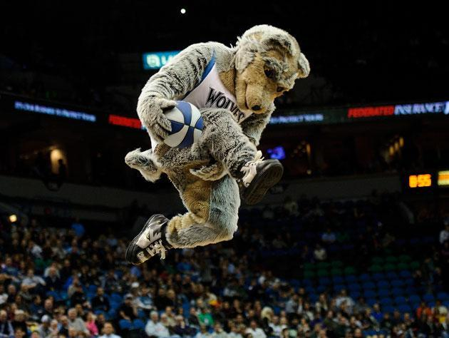 This is a timber wolf? (Getty Images)
