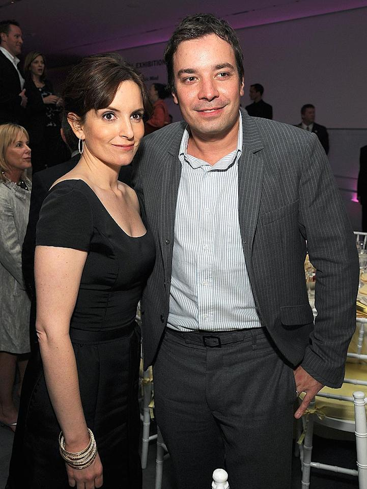 "Former ""Weekend Update"" co-anchors Tina Fey and Jimmy Fallon have continued to support one another since leaving ""SNL."" Dimitrios Kambouris/<a href=""http://www.wireimage.com"" target=""new"">WireImage.com</a> - April 23, 2008"