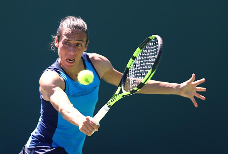 Tennis - Schiavone eyes French Open spot with Bogota title