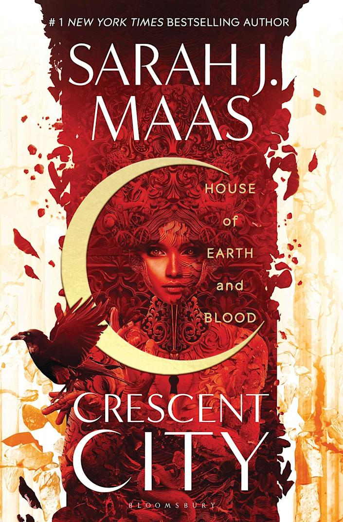"Fans of fantasy writer Sarah J. Maas can finally get their hands on the first of the new Crescent City series, &ldquo;House of Earth and Blood.&rdquo; Maas&rsquo;s latest romance and fantasy mash-up launches the story of Bryce Quinlan &mdash; half Fae, half human &mdash;as she seeks to avenge the death of her friends with the help of Hunt Athalar, a notorious Fallen angel. Read more about it on <a href=""https://www.goodreads.com/book/show/44778083-house-of-earth-and-blood"" rel=""nofollow noopener"" target=""_blank"" data-ylk=""slk:Goodreads"" class=""link rapid-noclick-resp"">Goodreads</a>, and <a href=""https://amzn.to/3arQQoN"" rel=""nofollow noopener"" target=""_blank"" data-ylk=""slk:grab a copy on Amazon"" class=""link rapid-noclick-resp"">grab a copy on Amazon</a>.&nbsp;<br><br><i>Expected release date: March 3</i>"