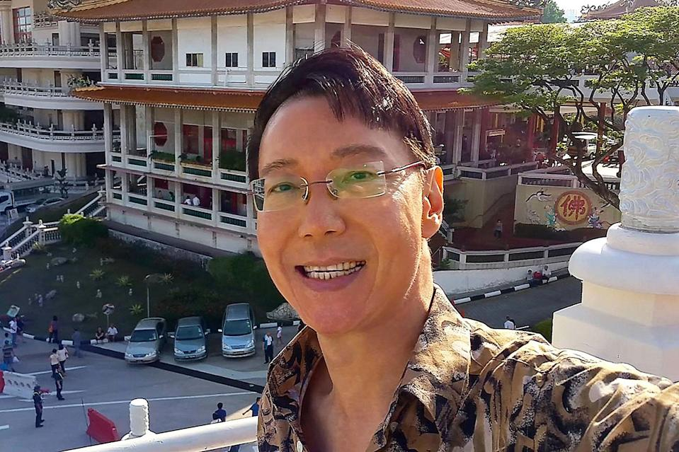 Singapore LGBT activist Roy Tan has filed a legal challenge against Section 377A of the Penal Code. (PHOTO: Facebook / Roy Tan)