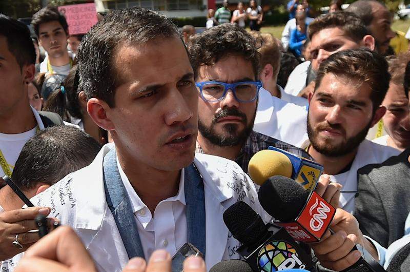 "Guaido said the army ""will end up manifesting its discontent"""