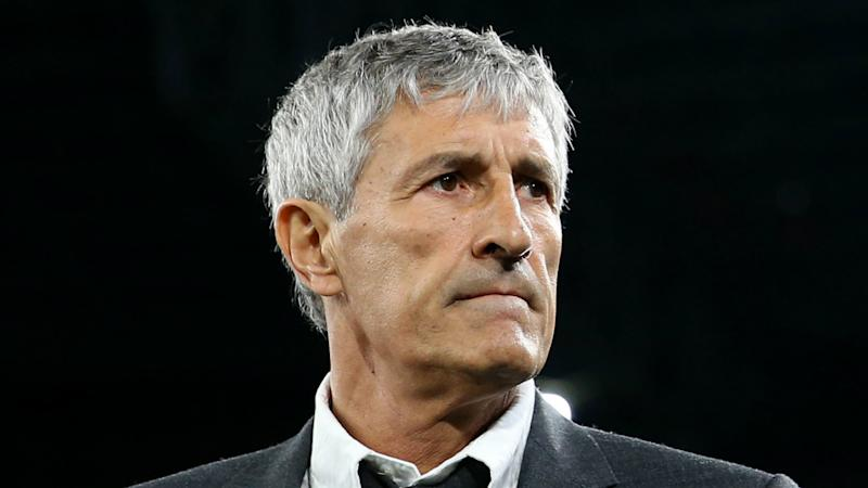 Setien on 'good' terms with Messi as Barcelona target Champions League tonic