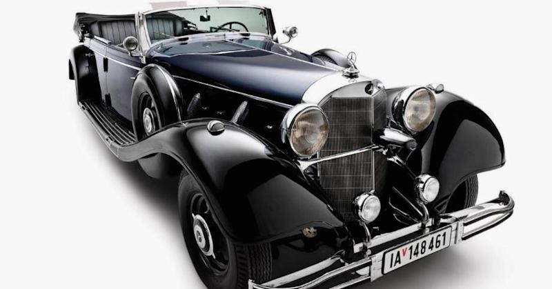 Hitler's wartime car, the most 'historically significant ever,' is up for auction in the US