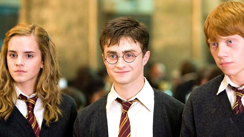 Harry Potter cast Hermione, Harry and Ron