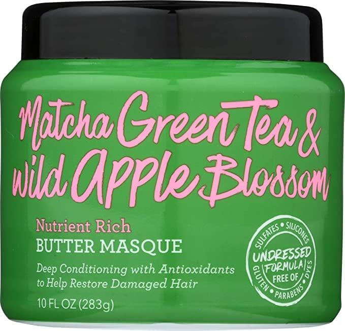 <p>The <span>Not Your Mother's Naturals Butter Masque Green Tea &amp; Wild Apple Blossom</span> ($12) is loaded with antioxidants from green tea. This helps protect against damage from environmental aggressors. </p>