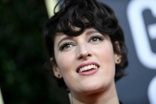 """British actress Phoebe Waller-Bridge took home the Golden Globe for best actress in a TV comedy for """"Fleabag"""""""