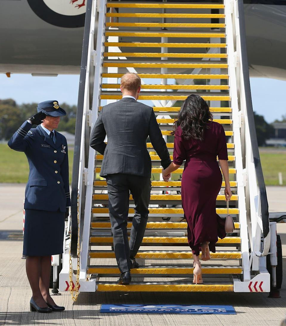 <p>The Duke and Duchess of Sussex will arrive in New Zealand as their final country in their 16-day tour. </p>