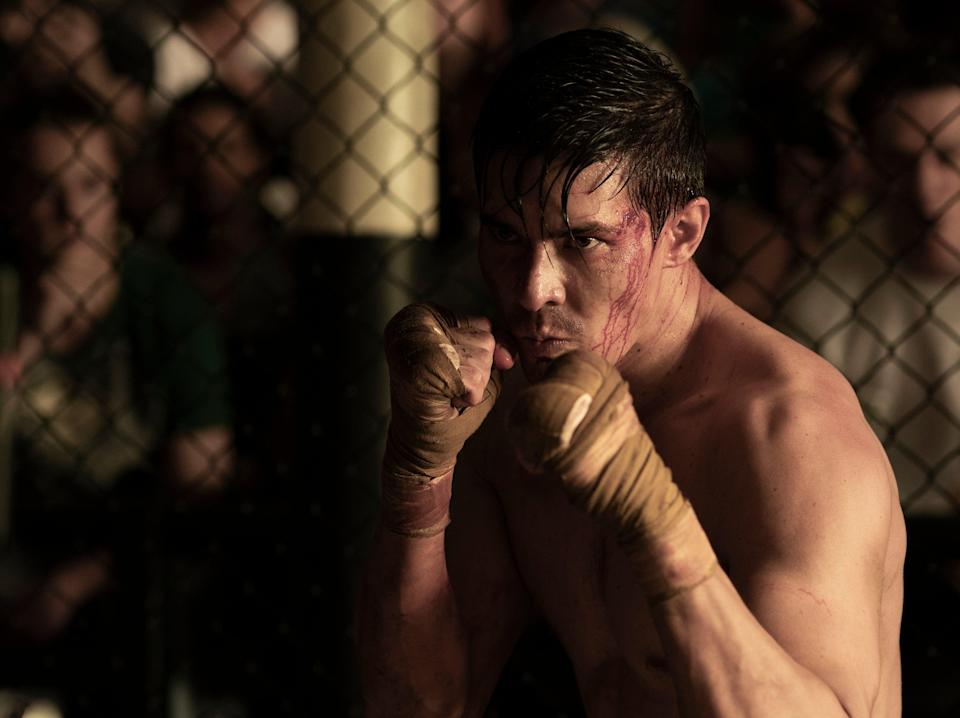 Cole Young is an MMA fighter who seems to have no discernable character traits beyond loving his family – despite being played by the ever-charismatic Lewis TanWarner Bros