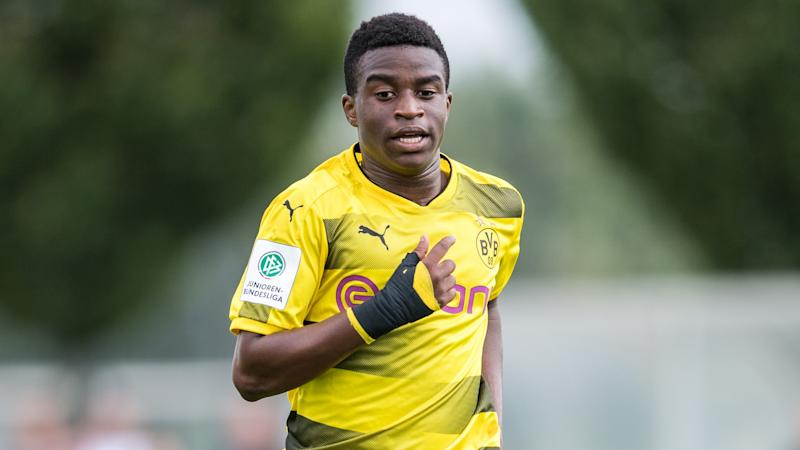 He Really Is 12 Years Old Dortmund Youth Coordinator Defends Wonderkid Moukoko