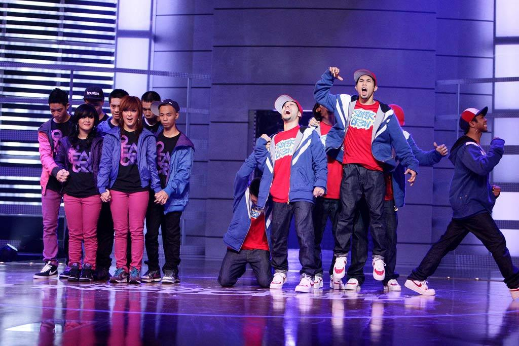 YAHOO! TV: What do you have to say to Super Cr3w? *** SOREAL CRU: Super Cr3w, y'all are an amazing group. Y'all deserve to win. Y'all worked really hard and I'm really proud of you guys and we all look up to you. Good luck in the future.