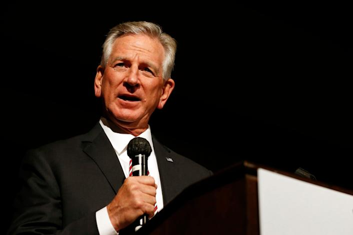 Tommy Tuberville had a 159–99 record as a college football head coach.