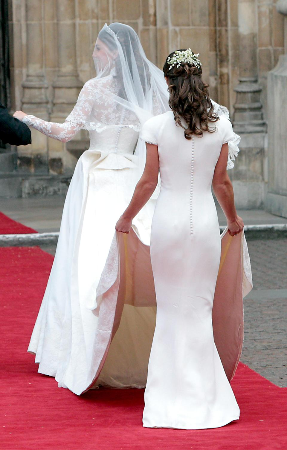Pippa Middleton's posterior also caused a plastic surgery trend in 2011 [Photo: Getty]