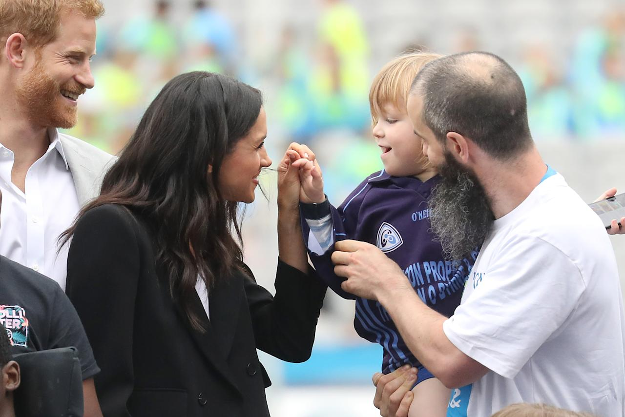 <p>Walter Cullen was delighted to meet a real-life Duchess. (Photo by Getty Images) </p>
