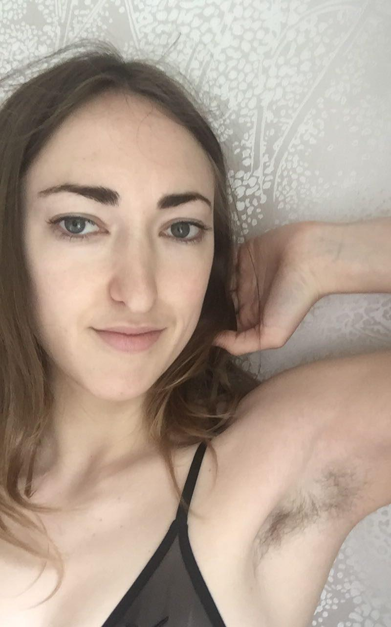 Daisy Walker gave up shaving because she realised she was doing it for the benefit of others - Credit: Daisy Walker
