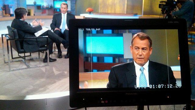Transcript: Exclusive Interview With House Speaker John Boehner on NSA Leak, Immigration Reform And More