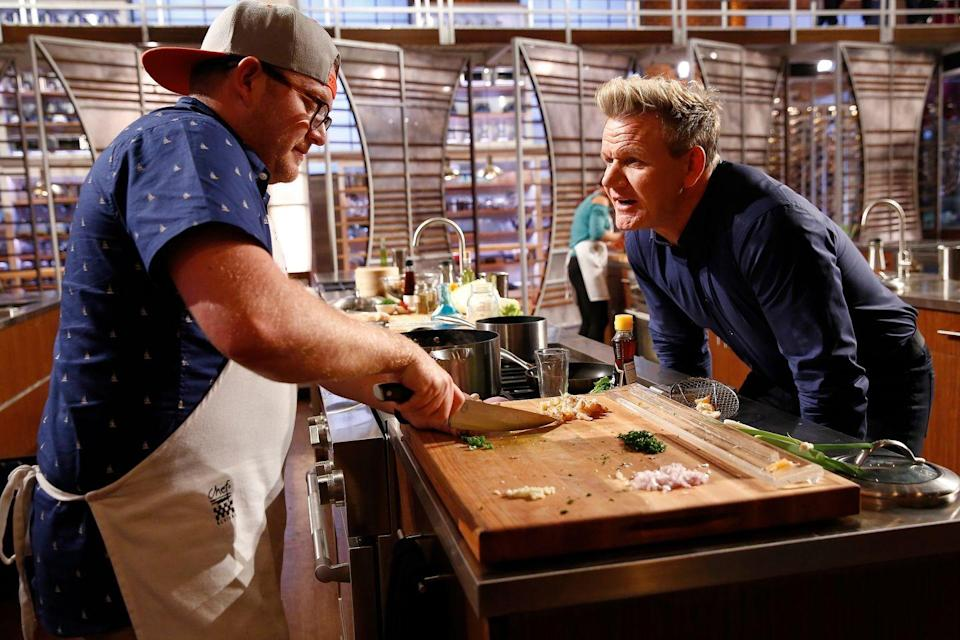 "<p>Those days in the kitchen are no joke. The contestants on <em>MasterChef</em> are expected to film <a href=""https://www.huffingtonpost.co.uk/entry/masterchef-junior_n_4234794?ri18n=true&guccounter=1"" rel=""nofollow noopener"" target=""_blank"" data-ylk=""slk:for 12 hours a day"" class=""link rapid-noclick-resp"">for 12 hours a day</a> when they're competing.</p>"