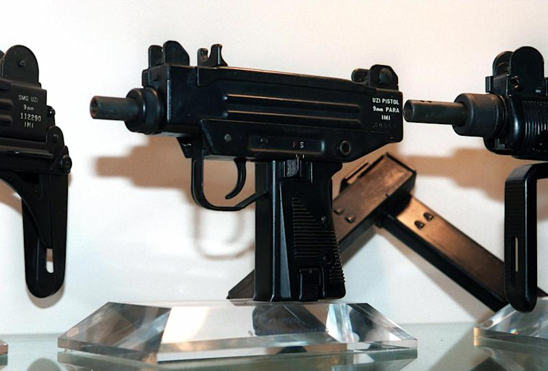 A nine-year-old girl learning to fire an Uzi submachine gun was unable to control the weapon, accidentally killing her instructor, news reports said (AFP Photo/Sven Nackstrand)
