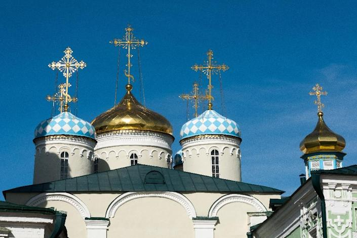 Russia's Orthodox Church, after years of repression under the Soviets, has regained much of its influence and built up close ties with the government despite a formal separation of Church and state (AFP Photo/Francois Xavier Marit)