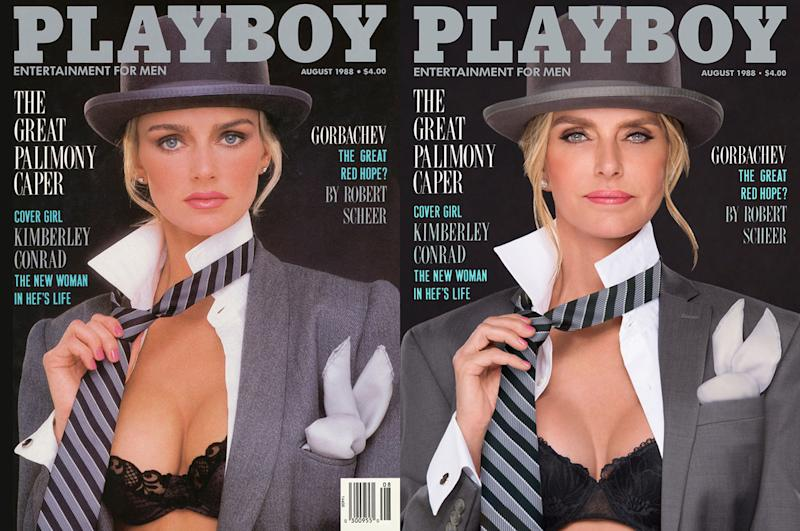 playboy' models recreate their iconic covers decades later