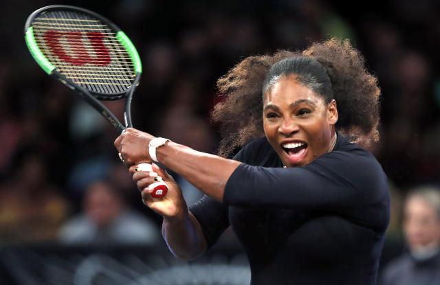 "<a class=""link rapid-noclick-resp"" href=""/olympics/rio-2016/a/1132744/"" data-ylk=""slk:Serena Williams"">Serena Williams</a> was the No. 1 player in the world when she took her maternity leave but won't be seeded at the French Open after a 14-month absence. (AP)"