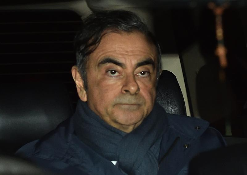 "Ousted boss of Nissan and Renault Carlos Ghosn, pictured April 3, 2019, whose case has gripped Japan and the rest of the business world, said if his trial is fair he is ""not worried"""