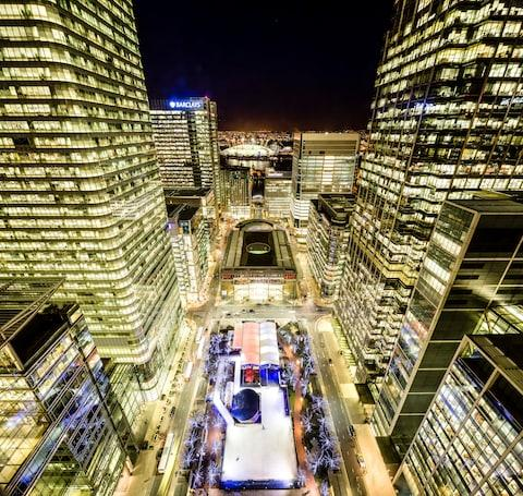 Skate in the shadow of Canary Wharf - Credit: 2014 Getty Images/Miles Willis