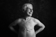 Juliet Fitzpatrick, 57, from Hertfordshire, was diagnosed with breast cancer in her left breast in 2016. <em>[Photo: Ami Barwell/PA Wire]</em>