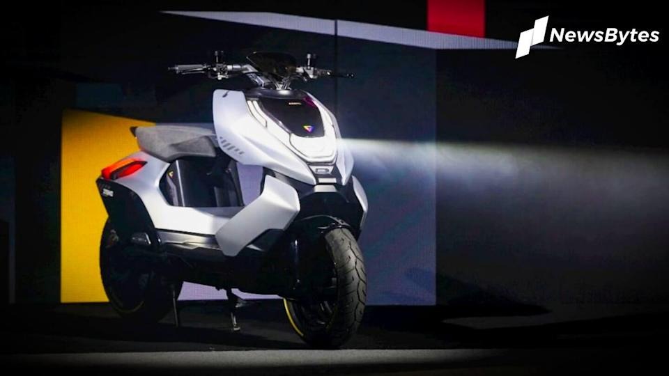 CFMoto Cyber Concept e-scooter, with a range of 130km, revealed