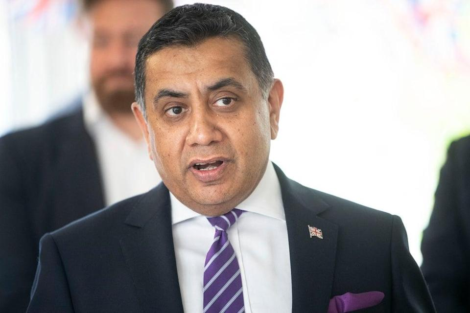 Lord Tariq Ahmad of Wimbledon was holidaying in the UK as Kabul fell, according to multiple reports (Victoria Jones/PA) (PA Archive)