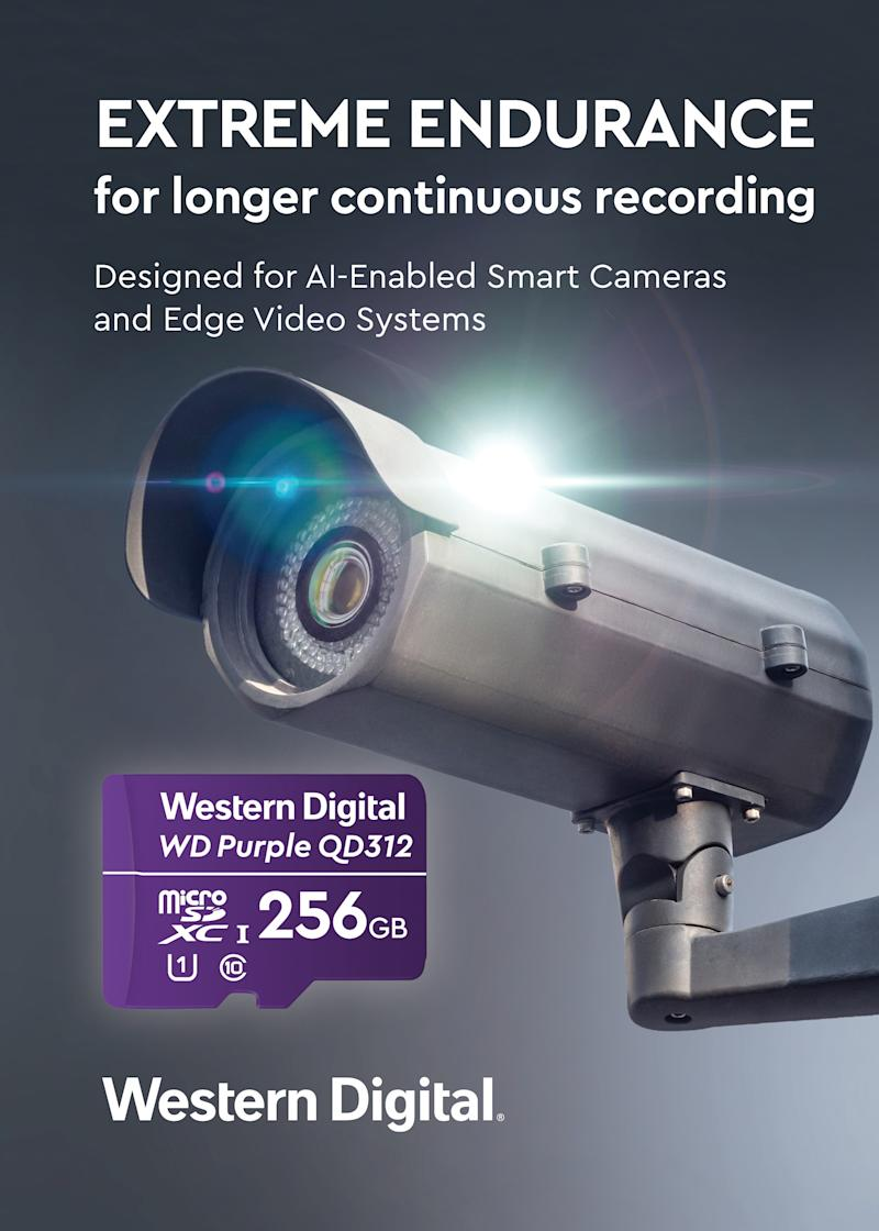 Western Digital Introduces Surveillance-Class Storage with Extreme Endurance For AI-Enabled Security, Smart Video and Advanced Edge Devices