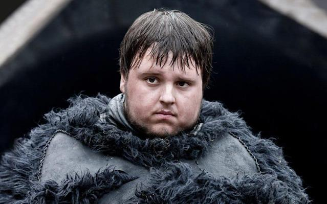 Samwell Tarly, in his pre-library days
