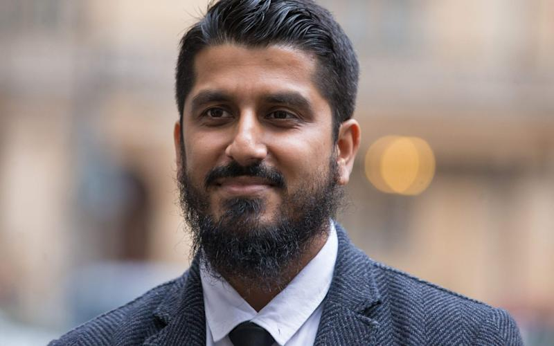 Muhammad Rabbani was convicted ofwilfully obstructing a stop-and-search under Section 7 of the Terrorism Act - AFP