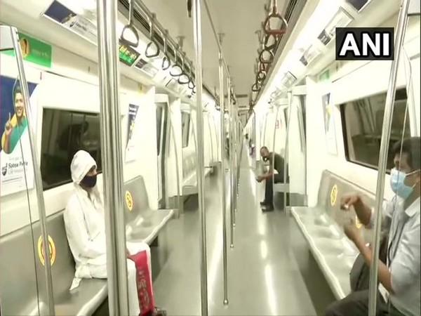 Visual from the metro train.