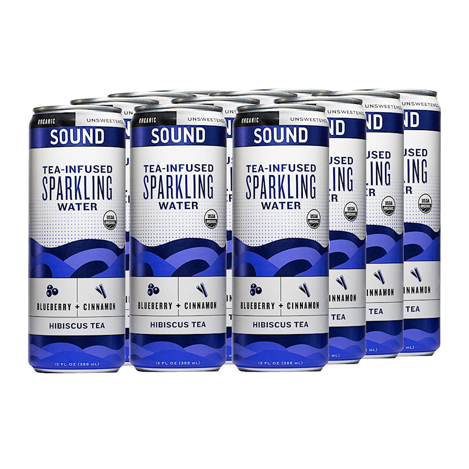 """<h3><a href=""""https://amzn.to/39hONG8"""" rel=""""nofollow noopener"""" target=""""_blank"""" data-ylk=""""slk:Sound Tea-Infused Sparkling Water, Blueberry + Cinnamon Hibiscus (12-Pack)"""" class=""""link rapid-noclick-resp"""">Sound Tea-Infused Sparkling Water, Blueberry + Cinnamon Hibiscus (12-Pack)</a></h3><br><strong>Sarah</strong><br><br><strong>How She Discovered It:</strong> """"I think I saw an ad for it on Facebook.""""<br><br><strong>Why It's A Hidden Gem: </strong>""""I love the flavor of it and I think it is a healthier beverage than soda.""""<br><br><strong>Sound</strong> Tea-Infused Sparkling Water, $, available at <a href=""""https://amzn.to/39hONG8"""" rel=""""nofollow noopener"""" target=""""_blank"""" data-ylk=""""slk:Amazon"""" class=""""link rapid-noclick-resp"""">Amazon</a>"""