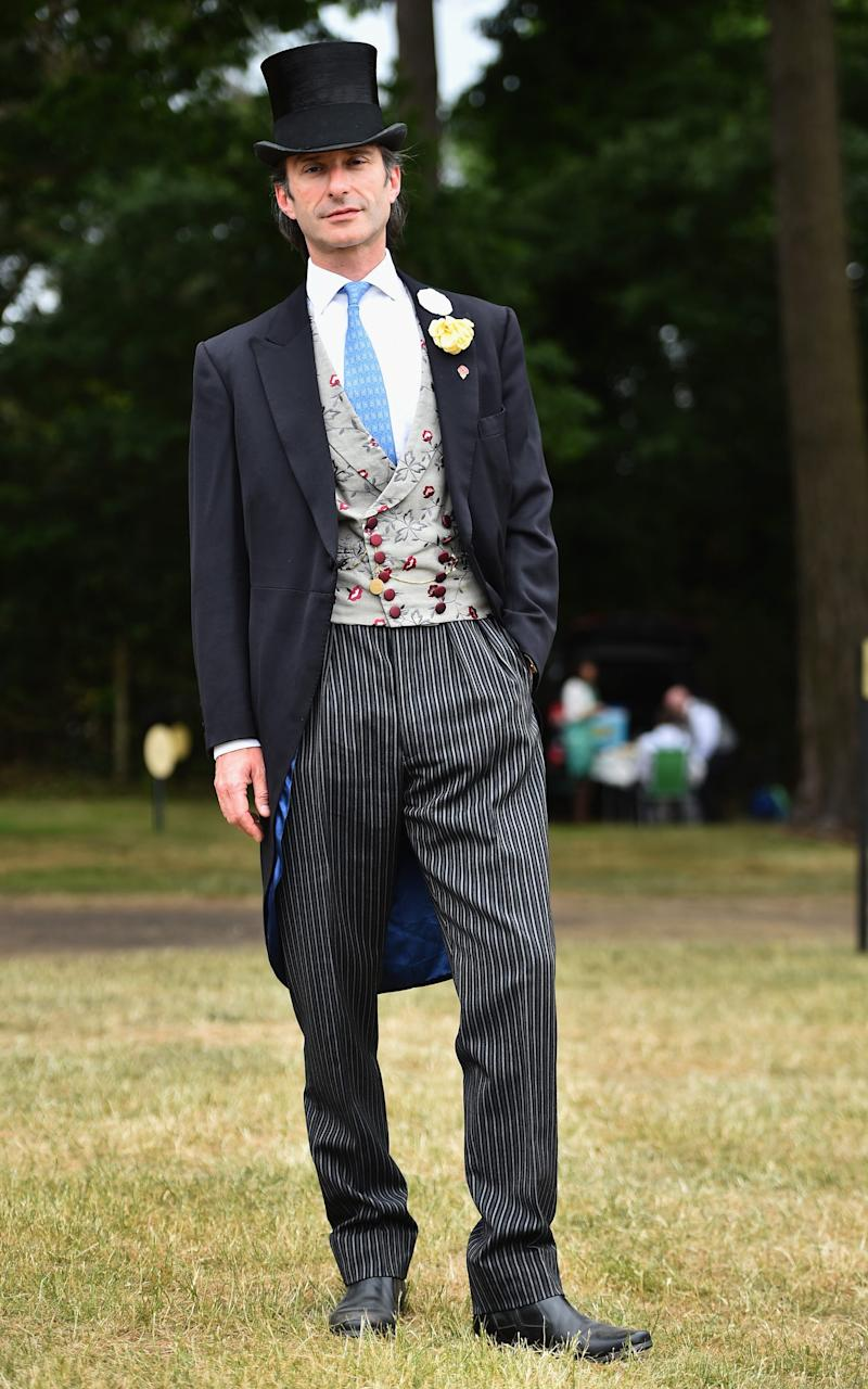 Rupert Onslow, 8th Earl of Onslow, at Royal Ascot in June 2015 - Credit: Jeff J Mitchell/Getty Images