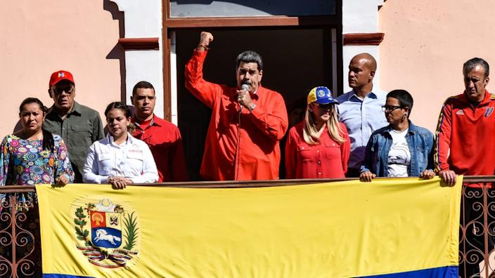 The US has offered a $15m reward for the arrest of President Nicolás Maduro
