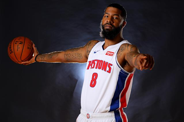 """Hey, you, come get this ball. I won't tear you limb from limb. Seriously, come get it. I won't knock you out. I swear. Come get the ball. I won't put you in a chokehold. Honestly, just grab it."" — Markieff Morris, in all likelihood"