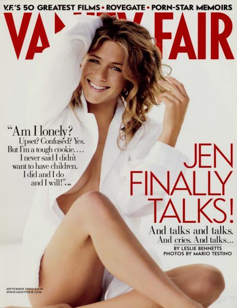 Jennifer Aniston (Bild: Vanity Fair)