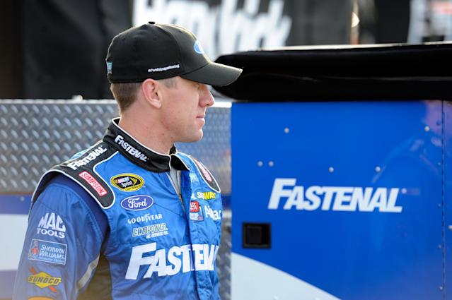 It's officially official: Carl Edwards will join Joe Gibbs Racing in 2015