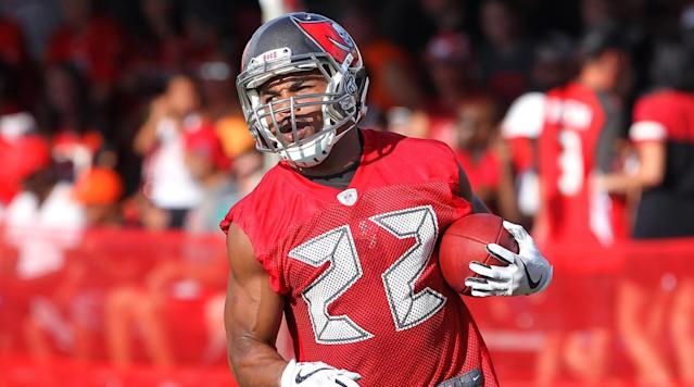 "<p>The Tampa Bay Buccaneers released running back Doug Martin, the team <a href=""https://twitter.com/TBBuccaneers/status/965984341846298624"" rel=""nofollow noopener"" target=""_blank"" data-ylk=""slk:announced"" class=""link rapid-noclick-resp"">announced</a> Tuesday.</p><p>Martin spent each of his six seasons with the team after being selected in the first round of the 2012 NFL Draft.</p><p>He was set to make $6.75 million in base salary in 2018 as part of a five–year, $35.75 million contract extension he signed in 2016.</p><p>Martin, 29, played in 11 games last season, but only ran for 406 yards and scored three touchdowns.</p><p>A two-time Pro Bowler, Martin had his best season in 2015, when he ran for 1,402 yards. He was named a first-time AP All-Pro at the end of the season.</p><p>In his career, Martin has 4,633 rushing yards and 1,091 receiving yards with 28 total touchdowns.</p>"