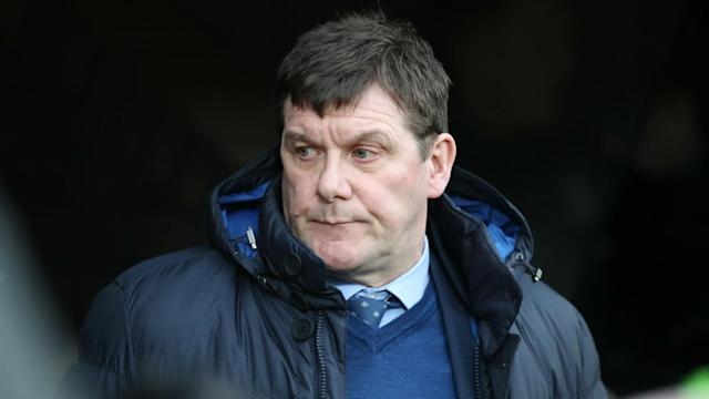St Johnstone colleagues Danny Swanson and Richard Foster were shown red cards during the break after becoming involved in an unsightly brawl