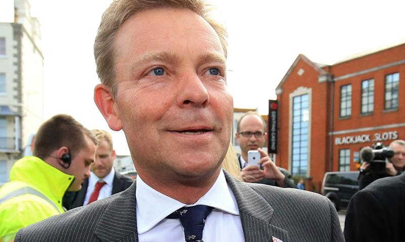 Craig Mackinlay pictured during the 2015 election campaign trail